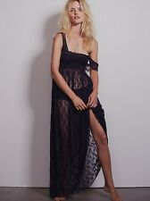 NEW Free People Intimately Romance In The Air Slip Dress INDIGO X-SMALL