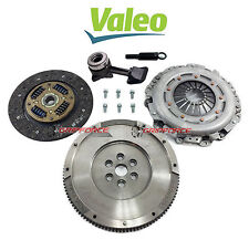 VALEO CLUTCH KIT+ SLAVE+ FLYWHEEL 00-04 FORD FOCUS SE ZTS ZTW ZX3 ZX5 2.0L DOHC