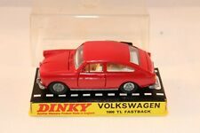 Dinky Toys 163 Volkswagen 1600 TL Fastback perfect mint in box