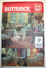 Wrap and tie slipcovers chairs ottomans  pattern 3093 unused