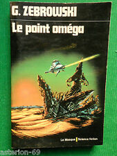 LE POINT OMEGA G ZEBROWKI  N15 LE MASQUE SCIENCE FICTION