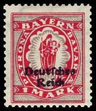 Germany Deutsches Reich 1920 Mi. Nr. 129 1 M Bavaria Definitive Overprint MH