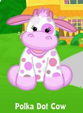 Webkinz Polka Dot Cow ( unused code only ) Longtime Seller Proven Trustworthy