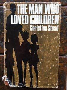 The Man Who Loved Children by Christina Stead 1st UK Edition 1966 Hardcover/DJ