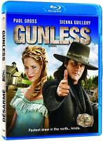 Gunless (Blu-ray) Paul Gross, Sienna Guillory NEW