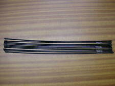 SHIMANO GEAR OUTER CABLE 520mm LENGTHS WHOLESALE JOB LOT OF 10 PIECES BLACK