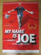 Film Poster * Cinema Poster * a1 * My name is Joe * EA 1999 * Peter Arnie