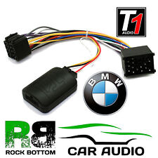 T1 Audio T1-BM3-ALPINE BMW 3 5 7 Series X5 Mini Car Steering Wheel Controls Lead