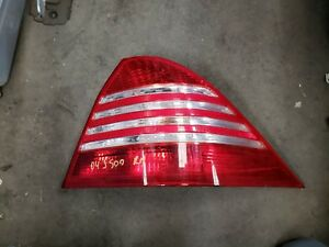 1999 2000 2003 2004 2005 2006 MERCEDES-BENZ W220 S430 S55 S500 RIGHT TAIL LIGHT