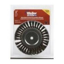 "Weiler Brush 36028 8"" Knot Wire Wheel Brush Twist 5/8"""