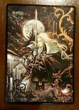 MTG altered art Castlevania Swamp