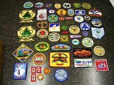 Lot of 53 Vintage Boy Scout Patches