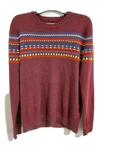 Red Christmas Hollister Jumper  - Knitted - Great Condition - Medium Fit - XL