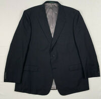 """palm beach worsted wool mini check 2btn suit 50 long 43"""" x 31.5"""""""