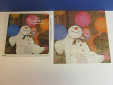 vintage COMPLETE THE SNOWMAN JIGSAW 50pc 1984 raymond briggs Y42
