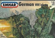 EMHAR 3503. WW1 GERMAN INFANTRY. 1/35 scale