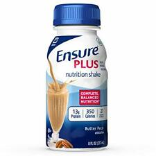 Ensure Plus Nutrition Vanilla shake Meal Replacement 8oz ( Pack of 6 )