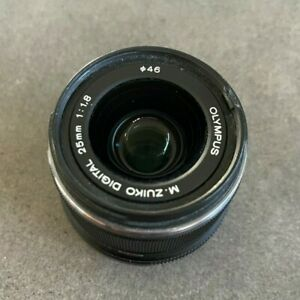 Olympus Zuiko Digital 25mm f/1.8 Lens - Black