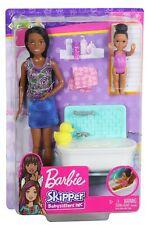 BARBIE Skipper Babysitters Inc. BATHTIME Playset With Bathtub and Doll Figures