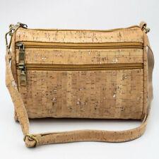 Natural Cork Eco Vegan Crossbody Ladies Messenger Bag / Cork Bag