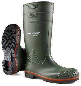 Dunlop Acifort S5 oliv Bauschutzstiefel Berufsstiefel ACIFORT