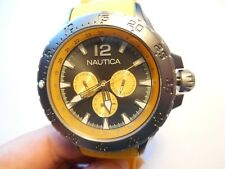 NAUTICA -MODEL N18675G -- HIGH QUALITY WATCH that is VERY AFFORDABLE.