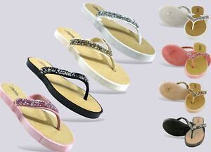 New Ladies Women Slip On -Beach/Holiday Home Casual Stone Mule UK Size 3-8