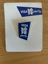 London Olympics 2012 Visa Party Pin Badge - Brand New