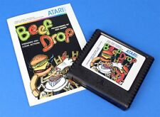 Beef Drop - Atari 5200 Homebrew Game - New!