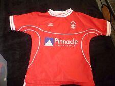 "Nottingham Forest FC Football Shirt Size small boys SB - 28"""