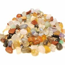 1/4lb 130+ pcs Natural Tumbled mix gemstones, tumbled gem chips xxsmall