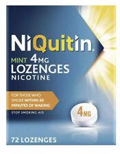 NiQuitin Mint 4mg Lozenges - 72 Lozenges BNIB UK SELLER EXP2022
