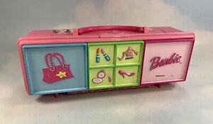 Barbie Doll Accessories Storage Organizer Case Tara Toys