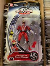 Power Rangers RPM Full Throttle Eagle  Ranger Red Ranger