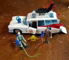 Vintage The Real Ghostbusters ECTO-1 Ambulance Vehicle 1986 Kenner and Figures