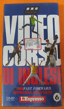 film VHS VIDEOCORSO DI INGLESE CARTONATA L'ESPRESSO VOL.6 sigillata(F186)no dvd