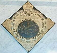 Rare Original Antique US Patent 1906 The Barritt Serviss Star and Planet Finder