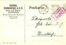 Briefmarken aus dem deutschen Reich (1919-1923) als Bedarfsbrief