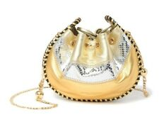 Marc Jacobs Sway Metallic Leather Crossbody Bag