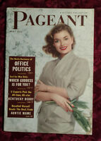 PAGEANT May 1957 BILLY WILDER ROSALIND RUSSELL JACKIE ROBINSON ABIGAIL VAN BUREN