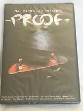 "New Sealed ""Proof"" Skateboard Dvd Paul Rodriguez Torey Pudwell Bapista Stanton"