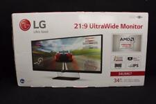 """NEW in Box LG 34UM67 34"""" IPS LCD Monitor with TV Tuner , built-in Speakers"""