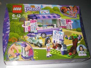 LEGO FRIENDS SET 41332 EMMA'S ART STAND   - BRAND NEW