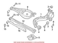 For BMW Genuine Suspension Control Arm Bolt Rear Lower 33171090824