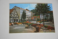 Albstadt Ebingen mit Brunnen Ansichtskarte