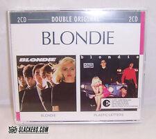 BLONDIE (S/T album) + Plastic Letters SEALED 2 CD Import NYC New Wave Punk BONUS