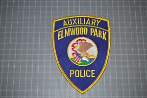 Elmwood Park Illinois Police Auxiliary Patch (B17-8)