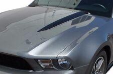 Vinyl Decal Hood Scoop Stripe Wrap Kit for Ford Mustang GT 2010-2014 Matte Black