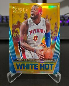 Andre Drummond 2012-13 Select While Hot Gold Prizm 4/10