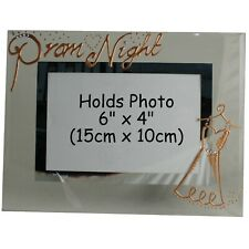 Prom Night Gift Picture Photo Frame: Land Copper with crystals